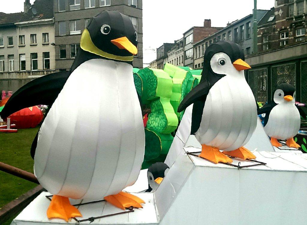 Drie parmantige pinguïns... of zijn het er nou vier?