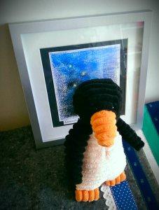 En nu moet mevrouw Ingeborg (40) even hoognodig een pinguïn knuffelen
